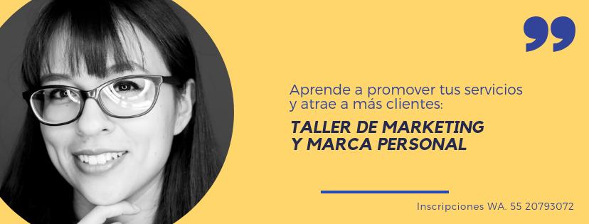 Taller ariana oropeza asesora de marca y marketing personal para freelancers
